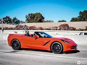 Corvette C7 Cabriolet : chevrolet corvette c7 stingray convertible 23 october 2014 autogespot ~ Medecine-chirurgie-esthetiques.com Avis de Voitures