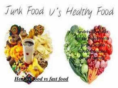 Healthy Fast Junk Foods Between Diet Differences