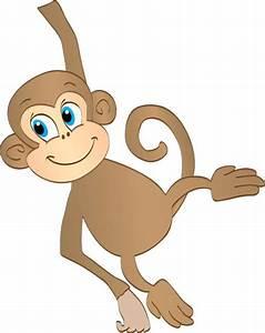 Hanging monkey clipart dromggg top - Clipartix