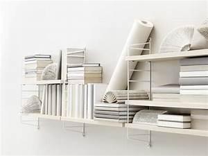 String Regal Ikea : string pocket shelf white ash shelves by string furniture made in design uk ~ Markanthonyermac.com Haus und Dekorationen