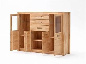 Moebel De : fanja highboard massivholz kernbuche massiv ~ Eleganceandgraceweddings.com Haus und Dekorationen