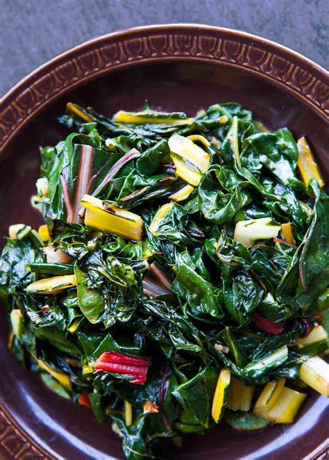 cuisine recipes easy easy swiss chard recipe simplyrecipes com