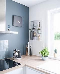 cuisine coloree 10 idees pour faire entrer la couleur With deco peinture cuisine design