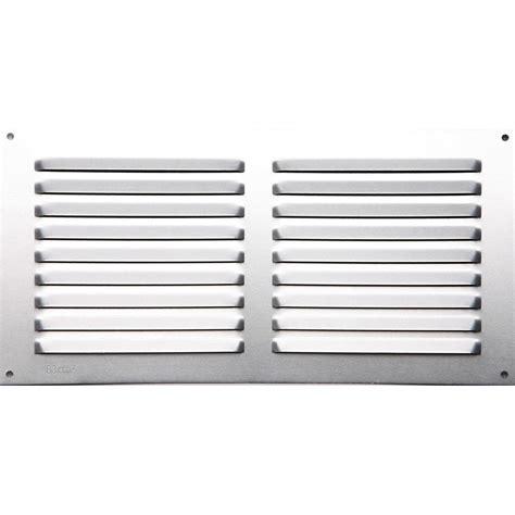 grille aeration cuisine grille d 39 aération aluminium anodisé l 15 x l 30 cm