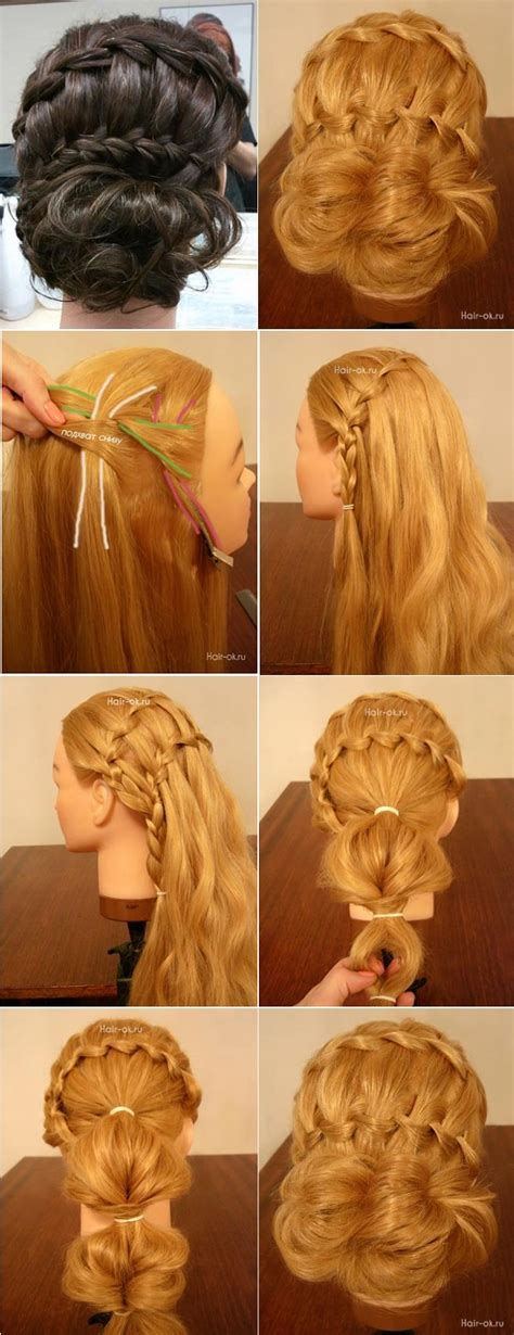 double waterfall french braid hairstyle diy alldaychic