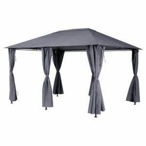 Toile Pour Tonnelle 3x3 : hesperide toile de toit pour la tonnelle santorini 3 x 4 ~ Dailycaller-alerts.com Idées de Décoration