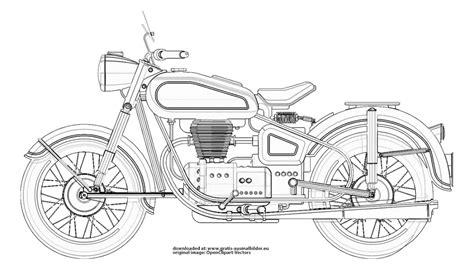 Bild 10 von motorrad zum ausdrucken und ausmalen. Motorrad - Gratis Ausmalbild
