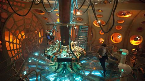 11th Doctor Tardis Interior by One Doctor Who The Tardis Through The Years