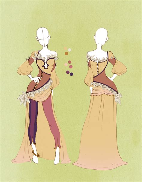 Commission Outfit April 05  by VioletKy on DeviantArt