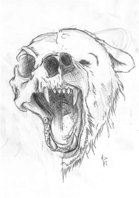 bear tattoo on Tumblr