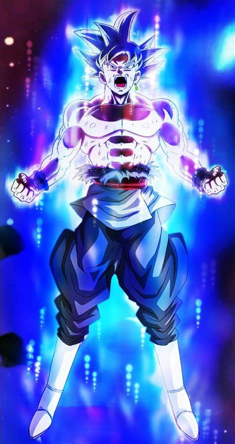 goku black mastered ultra instinct dragon ball super