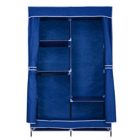 "42"" Portable Closet Organizer Colthes Wardrobe W Rack"