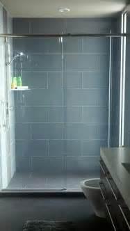 Large Subway Tile Shower