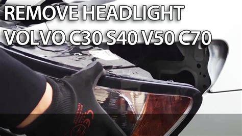 remove headlights  volvo