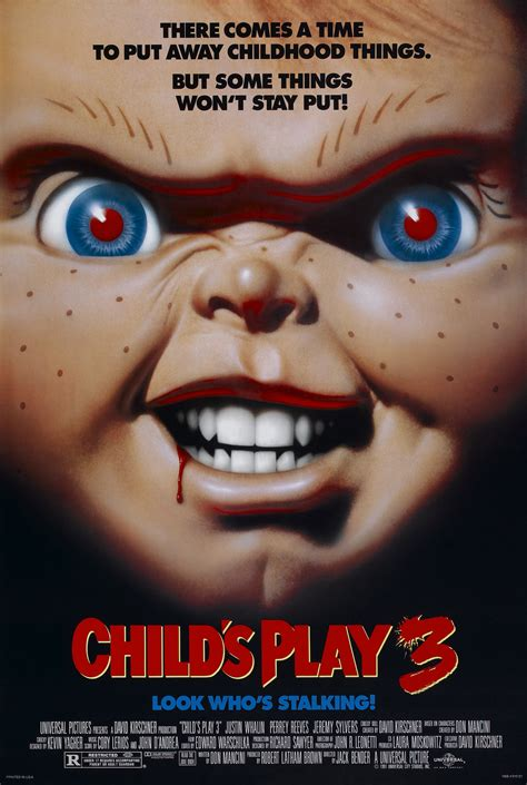 Poster For Childs Play 3 Look Whos Stalking 1991 Usa