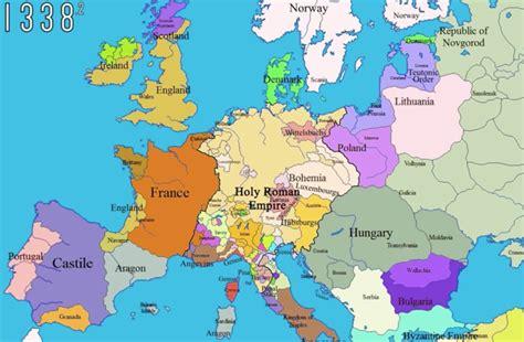 Carte Du Monde En Francais Avec Capitales by G 233 Opolitique Historique De L Europe 1000 2000 En Cartes