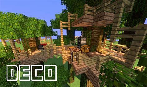 minecraft creer une cabane dans un arbre