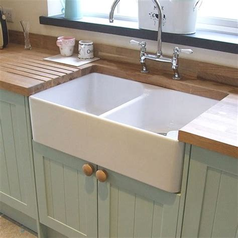 Butler & Rose Ceramic Fireclay Double Belfast Kitchen Sink