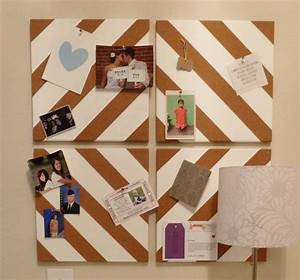 Pinnwand Selber Bauen : moderne pinnwand selber machen 9 diy ideen aus kork ~ Lizthompson.info Haus und Dekorationen