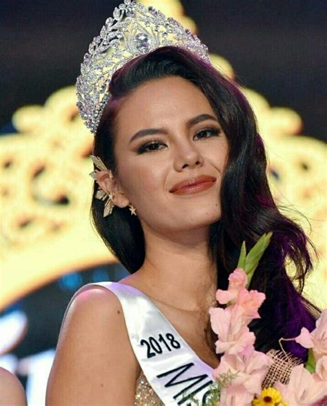 catriona gray pageant hair  universe crown beauty