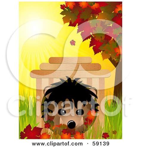 royalty  rf clipart illustration   cute hedgehog