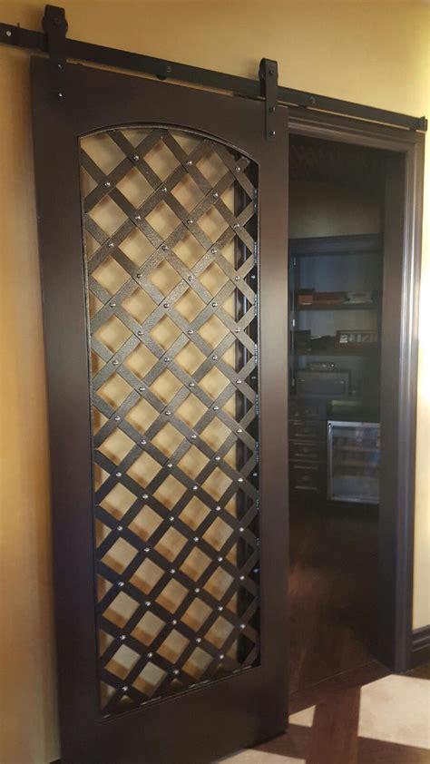 custom wine cellar doors sunset metal fab sunset metal