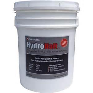 Hydrohalt Water & Vapor Barrier Membrane, 1 Gallon