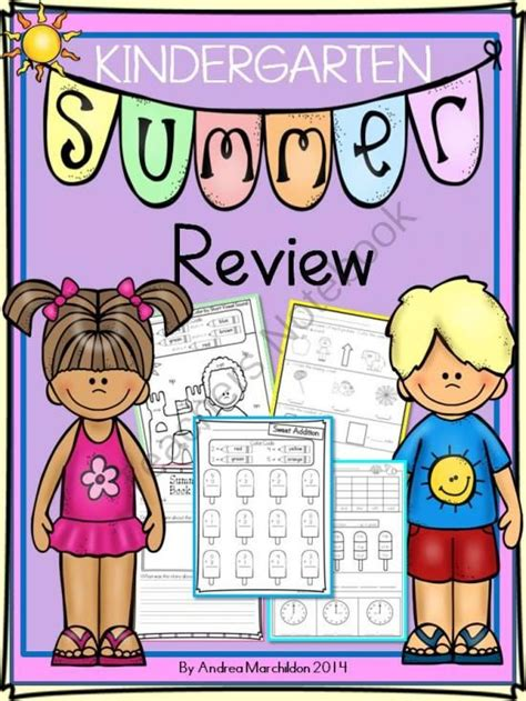 Summer Review Kindergarten To First! From Tricks Of The Trade In First Grade On Teachersnotebook