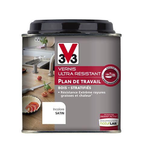 vernis table cuisine vernis plan de travail v33 incolore 0 5 l leroy merlin