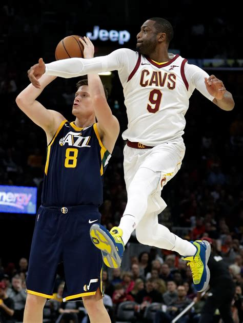 lebron james   triple double cavs beat jazz