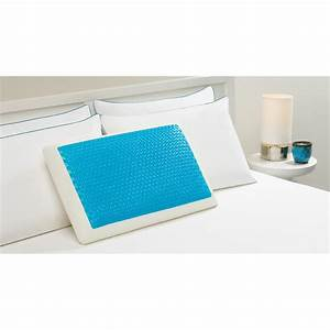 Hydraluxetm memory foam hydraluxe gel standard pillow for Comfort revolution king pillow