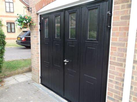 garage doors with doors in them carteck side hinged insulated camberley doormatic garage