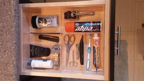Man Bathroom Drawer Organizer-custom Acrylic Drawer