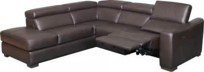canapé cuir veritable canapé d 39 angle convertible design avec relax et méridienne