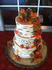 awesome wedding picture of awesome fall wedding cakes