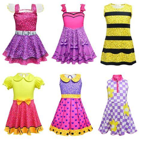 hitmebox fashion girls printed dress cute sleeveless fancy