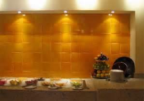 mexican tiles for kitchen backsplash mexicantiles backsplash with yellow mexican tile