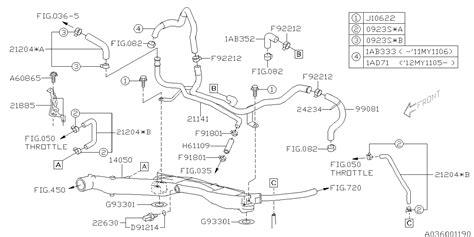 Subaru 2 5xt Engine Diagram by 99081aa060 Genuine Subaru Hose Complete Vacuum