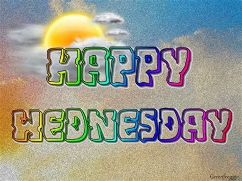 Happy Wednesday  3d And Cg & Abstract Background
