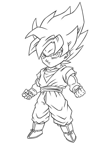 dragonball  coloring page coloring home