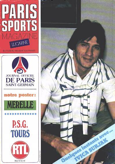 jean louis onnis paris canal historique07 05 1982 psg tours paris canal