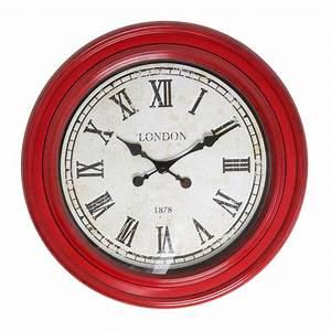 Red wall clocks australia for Red wall clocks australia