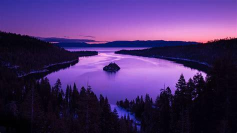 Sunset Lake View Wallpaper Hd Nature 4k Wallpapers