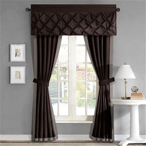 kohls window treatments valances home classics trilby window treatments valance also