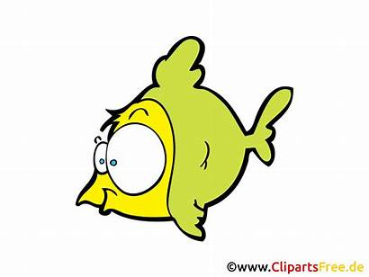 Fisch Comic Cartoon Gratis Fish Clipart Fische