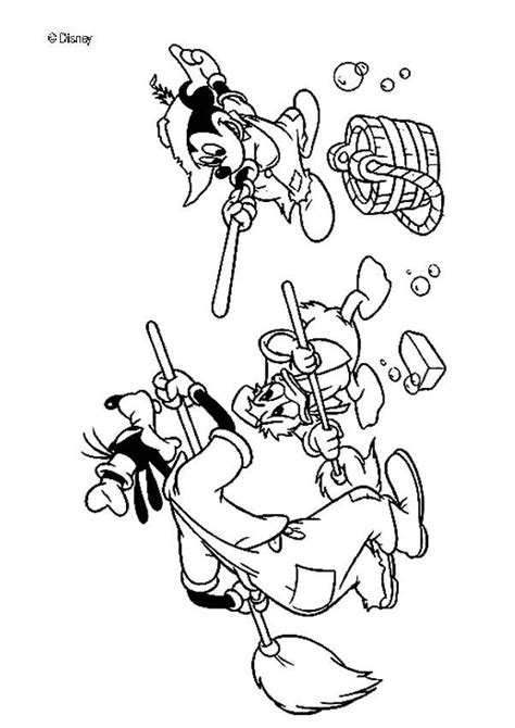 mickey mouse   friends coloring pages hellokidscom