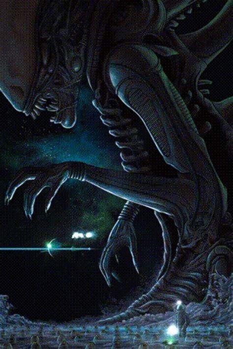 collectible alien  cards  mondo ign