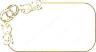 cadre mariage cadre avec anneaux de mariage image vectorielle 2591179