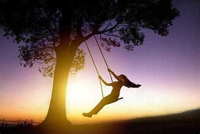 Simple Sunset Happy Vida Complex Swing Happiness