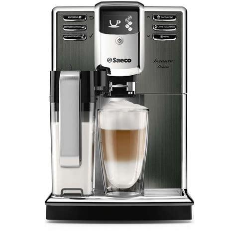 beste saeco koffiemachine philips saeco incanto deluxe titanium hd8922 01